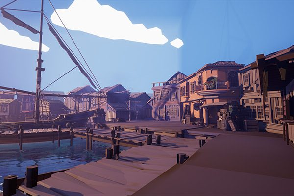 Screenshot from the harbor